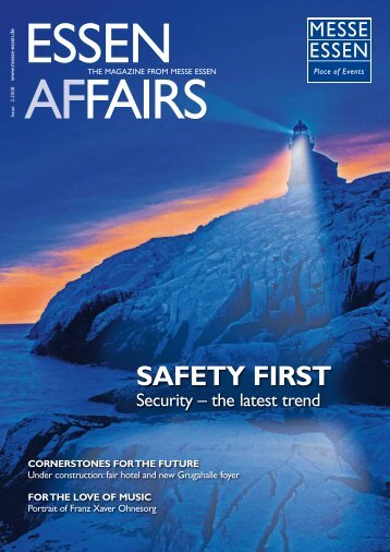 safety first - Messe Essen