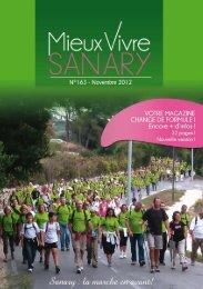 Mieux Vivre N°163 - Novembre 2012 (pdf - 7 - Sanary-sur-Mer
