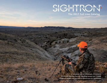 Sightron Full Line Catalog 2017