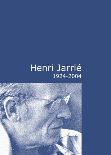 Henri Jarrié - Arcade PACA