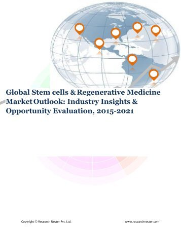 Global Stem cells & regenerative medicine market Demand & Opportunity Analysis 2021
