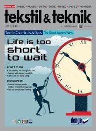 Tekstil Teknik Dergisi Mart 2017 Sayısı