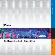 Die Messewirtschaft Bilanz 2011 - Auma