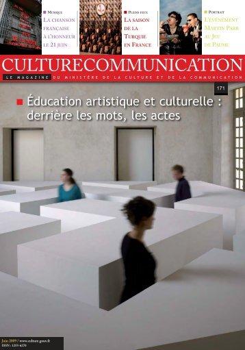 actuali - Ministère de la Culture et de la Communication