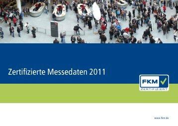Zertifizierte Messedaten 2011 - Auma