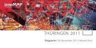 innoMAP - Wirtschaftsspiegel Thüringen