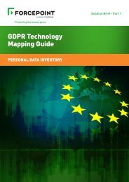 GDPR Technology Mapping Guide
