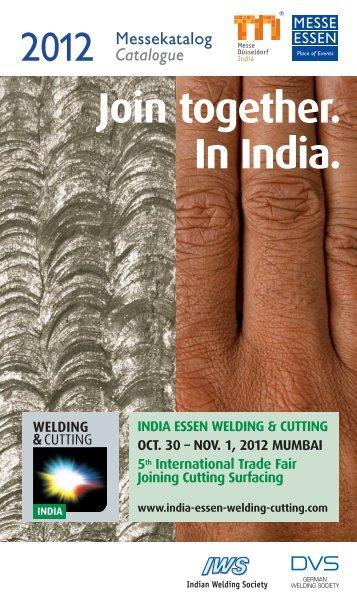 Join together. In India. - India Essen Welding & Cutting