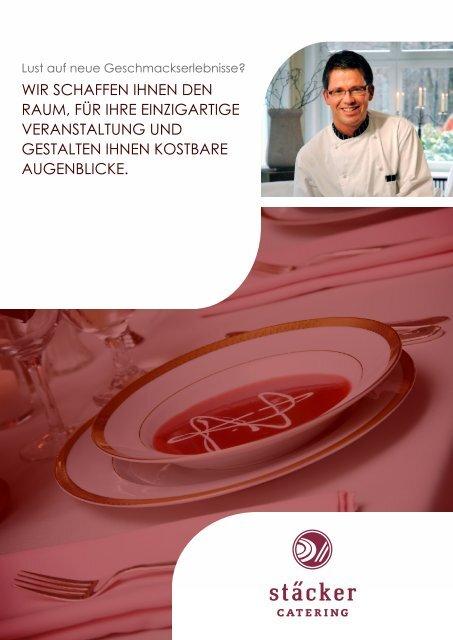 Willkommen im stäckers - Stäcker Catering