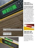 type 196-2 electronic iP 65  - Stabila - Seite 4