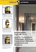 Rotationslaser LAR 120 G: Green Power - Stabila - Seite 4