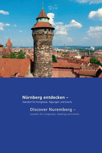 Kongressstandort Nürnberg entdecken - Congress ... - Stadt Nürnberg