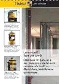Laser rotatif LAR 120 G: Green Power - Stabila - Page 4