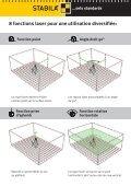 Laser rotatif LAR 120 G: Green Power - Stabila - Page 6