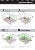 Laser rotatif LAR 120 G: Green Power - Stabila - Page 7