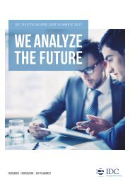IDC Research & Consulting Brochure 2017-DE