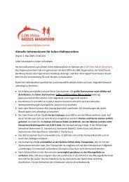 Inline-Halbmarathon Kassel - Kassel Marathon