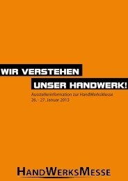 wir verstehen unser handwerk! - Handwerkskammer Hamburg