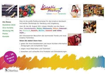 26. - 28. August 2011 - Kreativ Hamburg