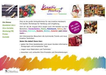 Dies ist die große Verkaufsmesse für das kreative ... - Kreativ Hamburg