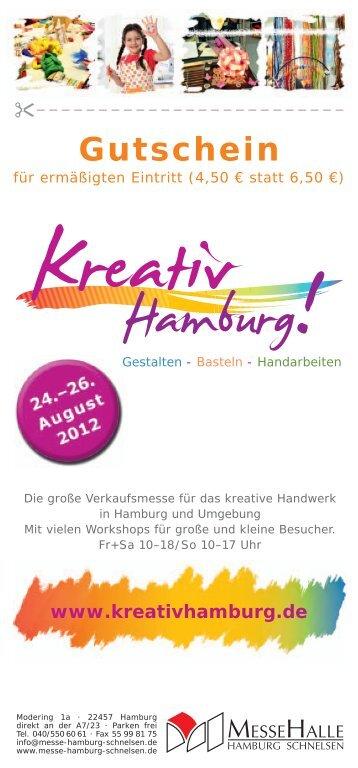Gutschein - Kreativ Hamburg
