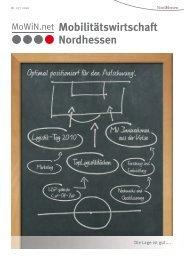 Mobilitätswirtschaft Nordhessen - Sintropher