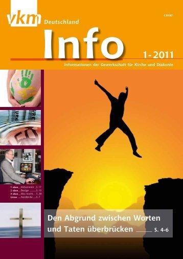 Info 1-2011 - vkm-Deutschland