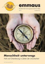 Rundbrief der Emmausgemeinschaft - Ausgabe 04 15