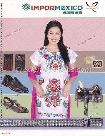 #582 Impor Mexico Western Wear Accesorios Vaqueros Catalogo 2017