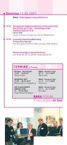 BAKA FORUM Praxis Altbau on tour - Seite 5