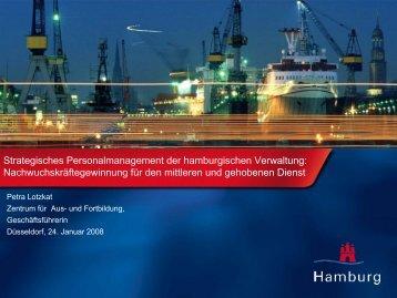 Strategisches Personalmanagement der hamburgischen Verwaltung