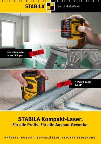 Lot-Laser LAX 300 - Stabila