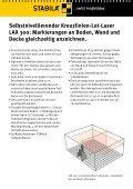 Lot-Laser LAX 300 - Stabila - Seite 4