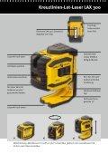 Lot-Laser LAX 300 - Stabila - Seite 5