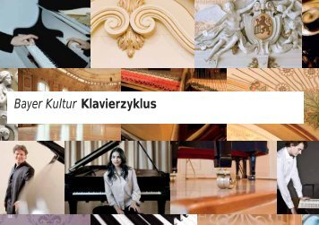 Bayer Kultur Klavierzyklus - Historische Stadthalle Wuppertal