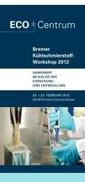 Bremer Kühlschmierstoff- Workshop 2012 - LFM