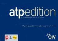 Mediainformationen 2013 - Oldenbourg Industrieverlag GmbH ...