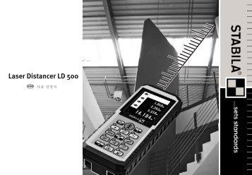 Laser Distancer LD 500 - Stabila