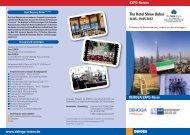 The Hotel Show Dubai - DEHOGA Reisen