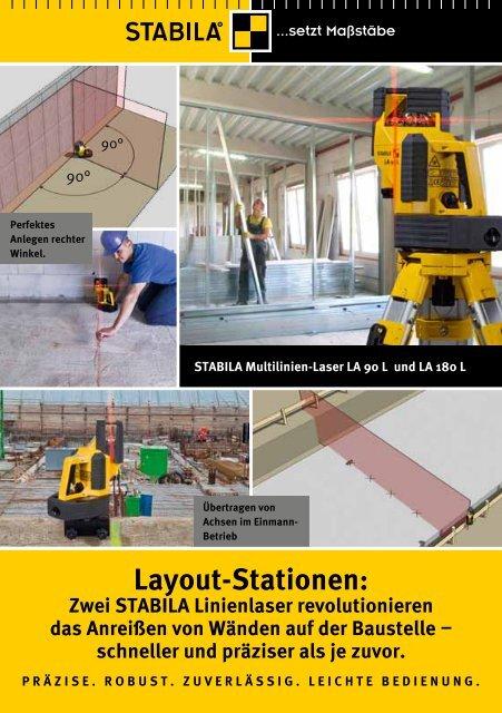 Multilinien-Laser LA 180 L - Stabila