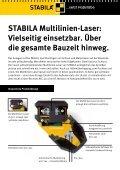 Multilinien-Laser LA 180 L - Stabila - Seite 2