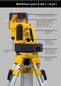 Multilinien-Laser LA 180 L - Stabila - Seite 3