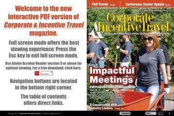 Corporate & Incentive Travel - TheMeetingMagazines.com