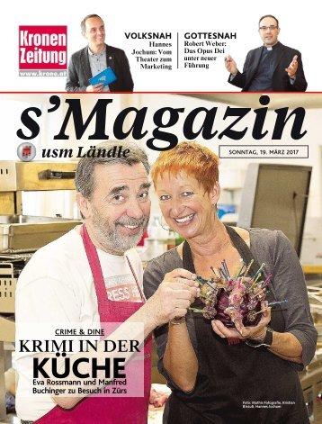 s'Magazin usm Ländle, 19. März 2017