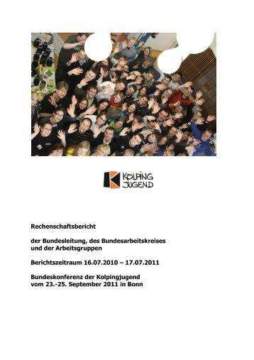 BFA 4 - Kolpingjugend - Kolpingwerk Deutschland