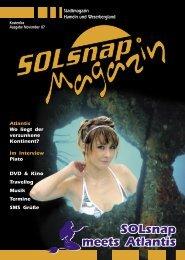 SOLsnap meets Atlantis - Wir knipsen durch die Nacht!