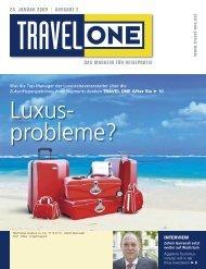 DAS MAGAZIN FÃœR REISEPROFIS 28. JANUAR 2009 ... - Travel-One