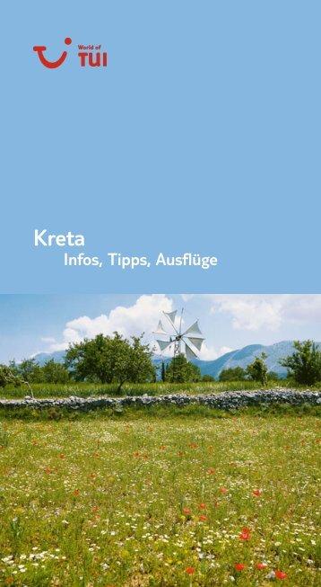 TUI - Infos, Tipps, Ausflüge: Kreta - tui.com - Onlinekatalog