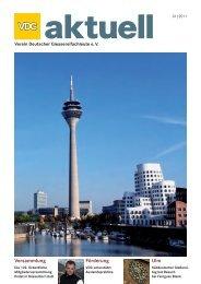 VDG aktuell 1/2011