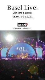 21. Okt. bis 13. Nov. 2011 - Basel Live